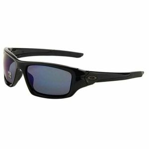 Oakley Rectangular Sunglasses Blue Polarized Lens